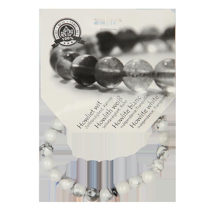 Bracelet de perles Steengoed Howliet Rouge
