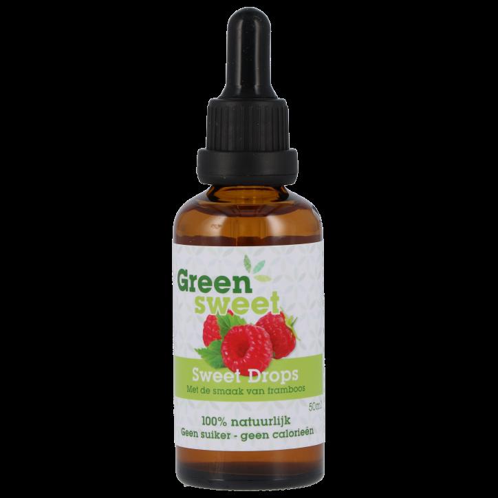 Greensweet Stevia Framboos Vloeibaar