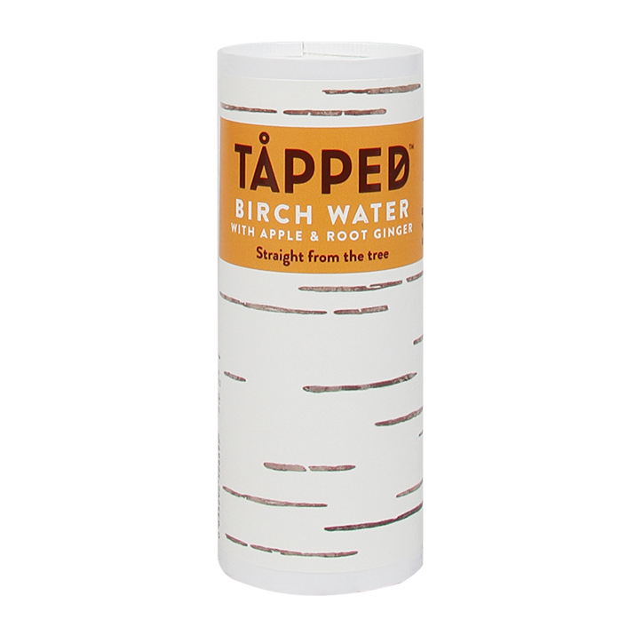 Tapped Birch Water Berkenwater Apple & Root Ginger