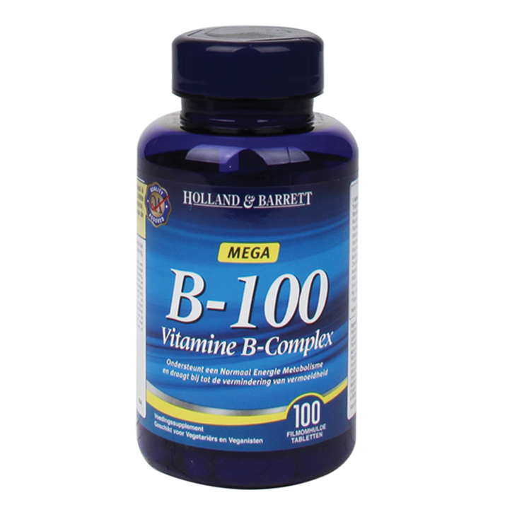 Holland & Barrett Vitamine B100 Complex