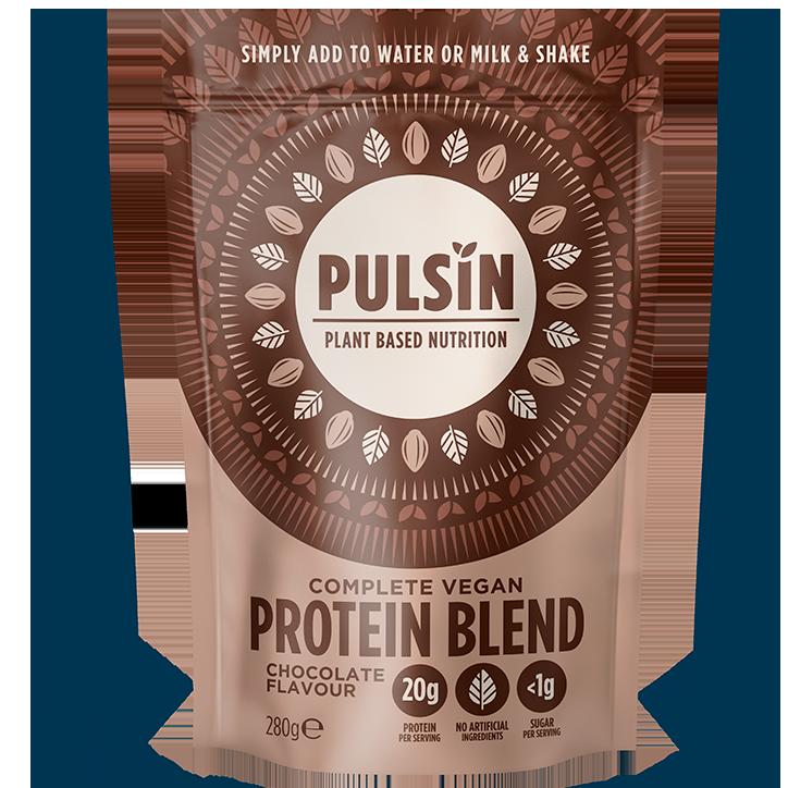 Pulsin Erwten Protein Chocolate (250gr)
