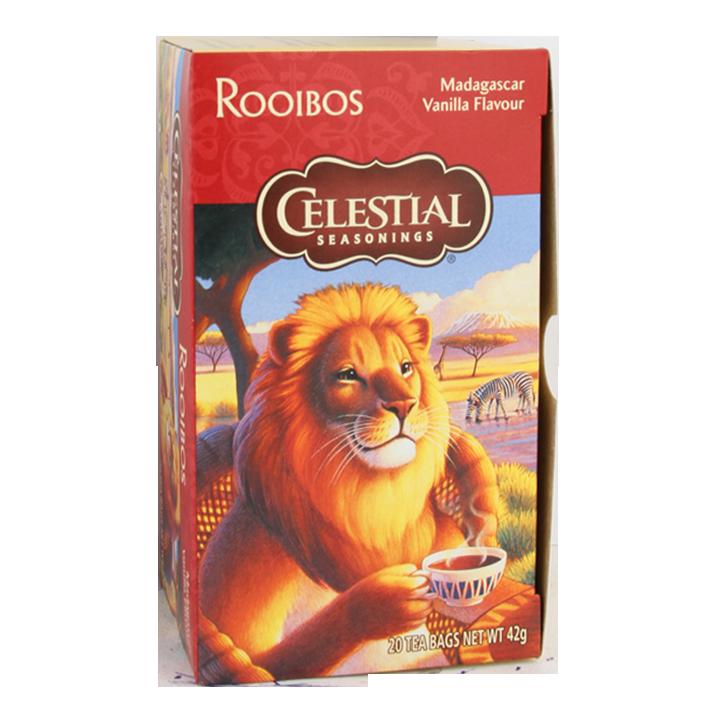 Celestial Seasoning Rooibos Madagascar Vanilla (20 Theezakjes)