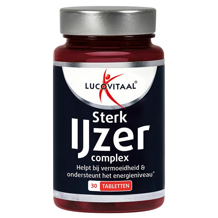 Lucovitaal Sterk IJzer Complex (30 Tabletten)