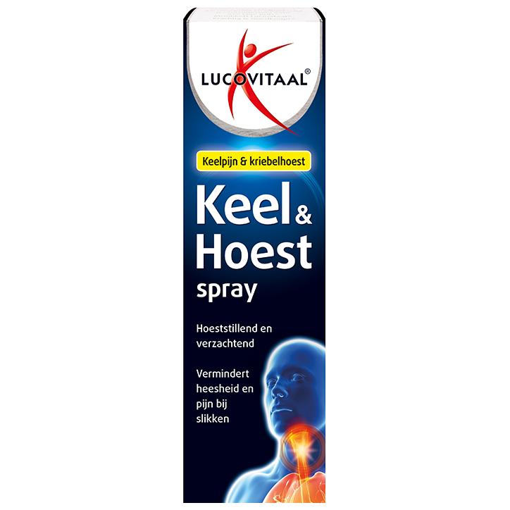 Lucovitaal Keel Hoest Spray