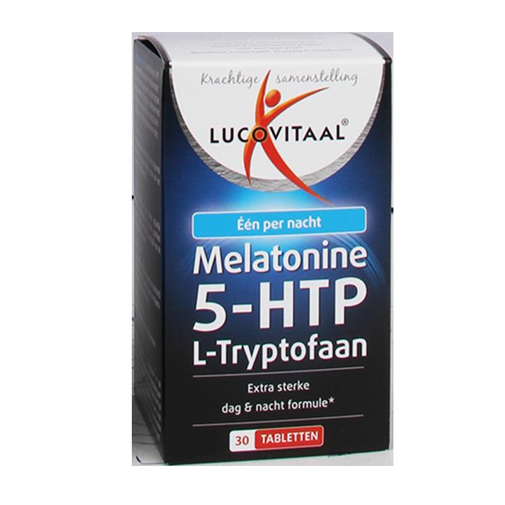 Lucovitaal Melatonine 5-HTP (30 Tabletten)