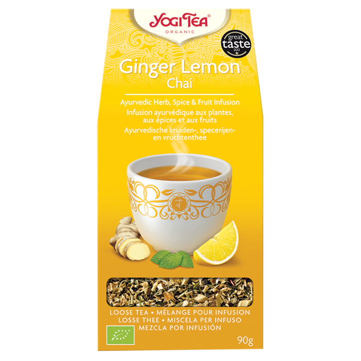 Yogi Tea Ginger Lemon Chai Bio (90gr)