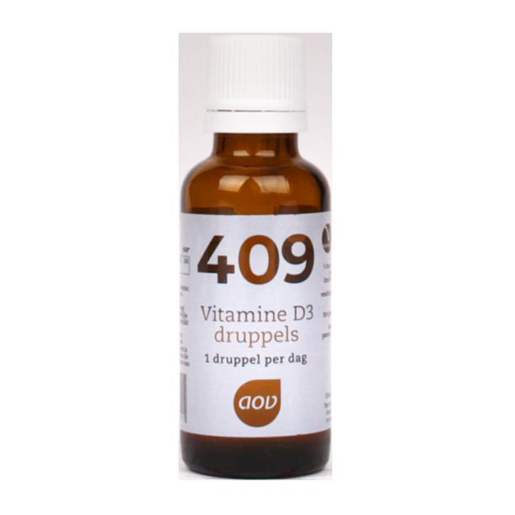 AOV 409 Vitamine D3 Druppels (15ml)