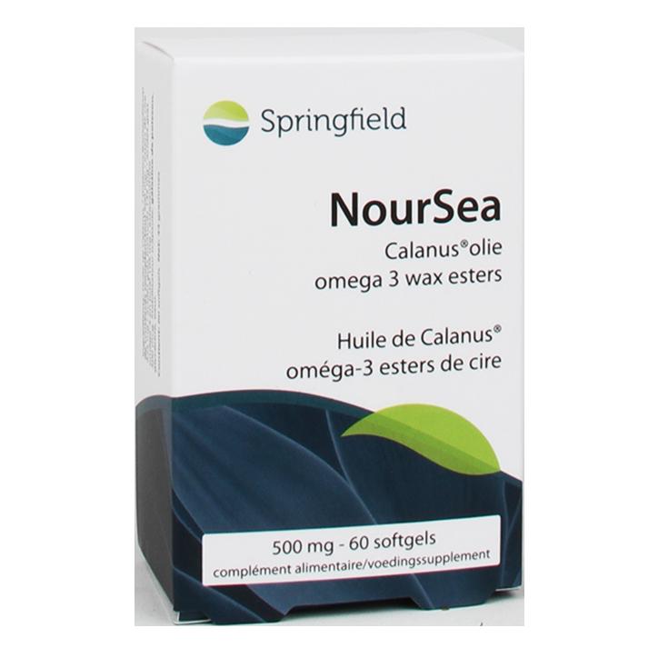 Springfield Noursea Calanus Olie (60 Capsules)