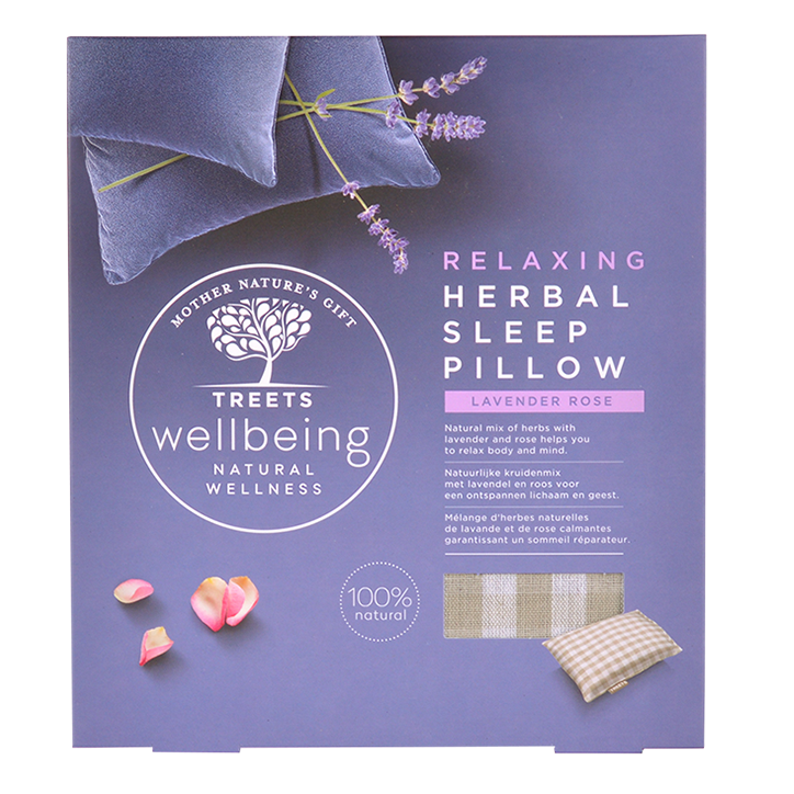 Treets Herbal Sleep Pillow Relaxing