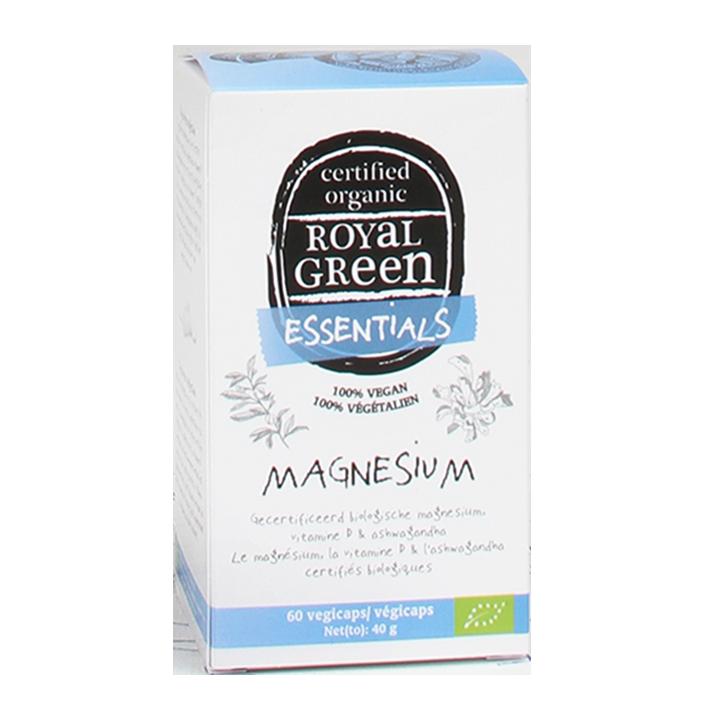 Royal Green Magnesium, 125mg (60 Capsules)