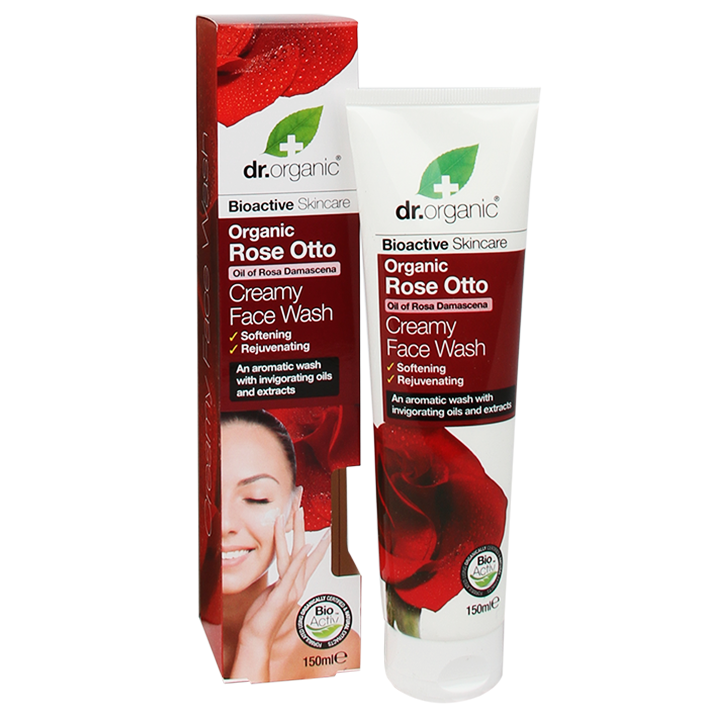 Dr. Organic Face Wash Roos