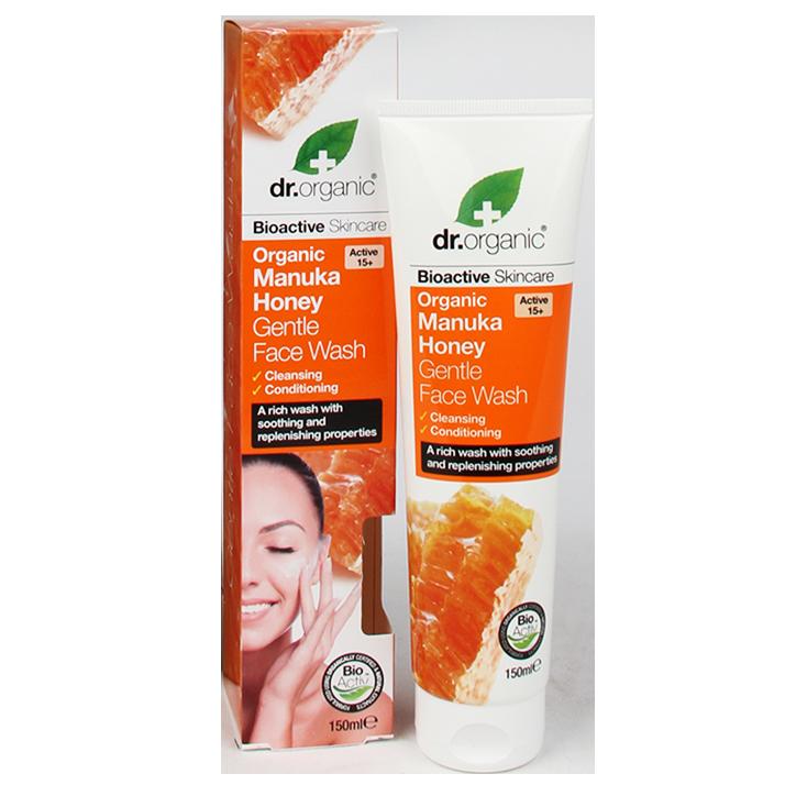 Dr. Organic Face Wash Manuka Honing