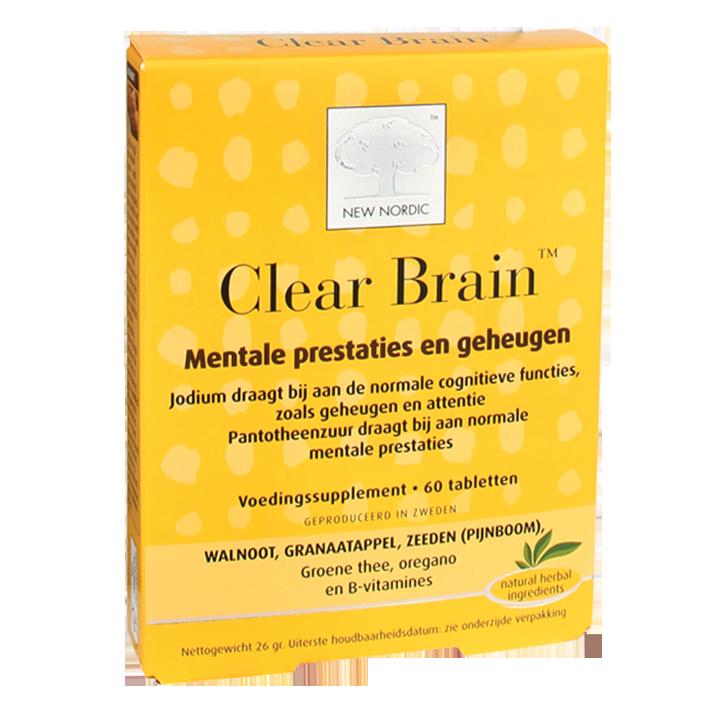 New Nordic Clear Brain (60 Tabletten)