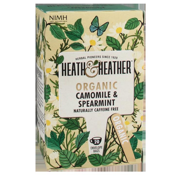 Heath & Heather Camomile & Spearmint Tea Bio