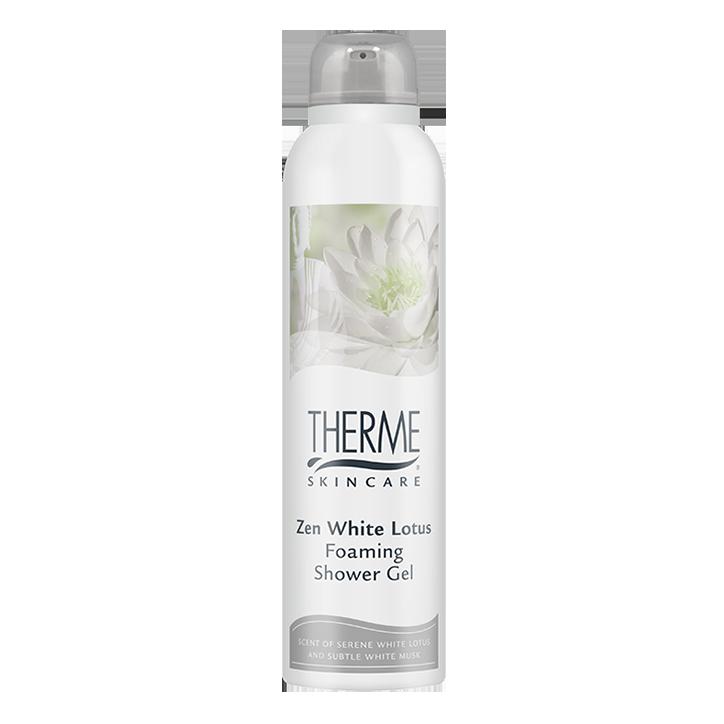 Therme Zen White Lotus Foaming Shower Gel