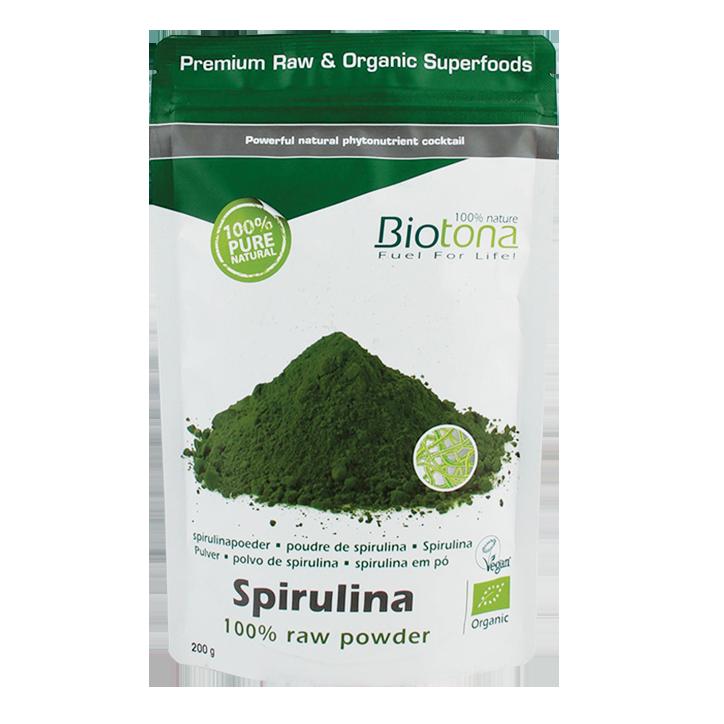 Biotona Spiruline Raw Poudre Bio
