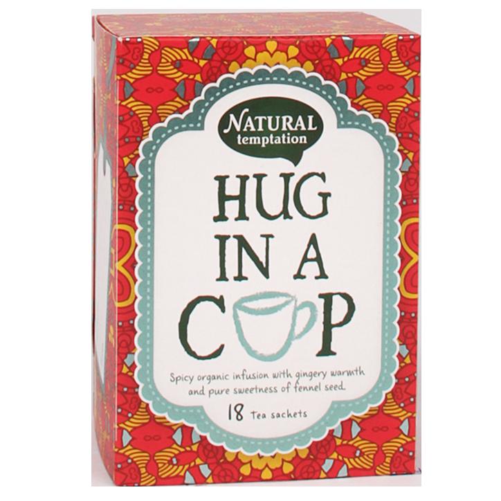 Natural Temptation Hug In A Cup Bio (18 Theezakjes)