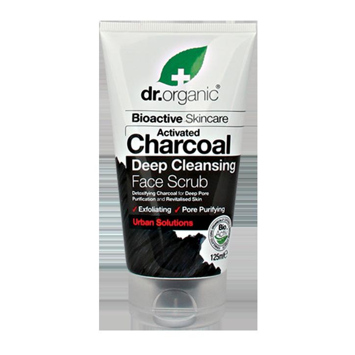 Dr. Organic Charcoal Face Scrub