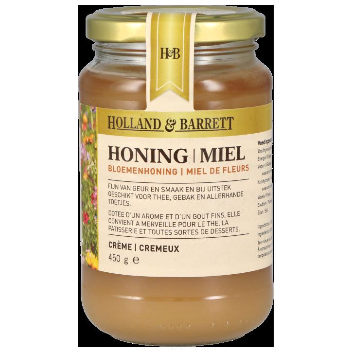 Holland & Barrett Miel de fleurs crémeux 450 g