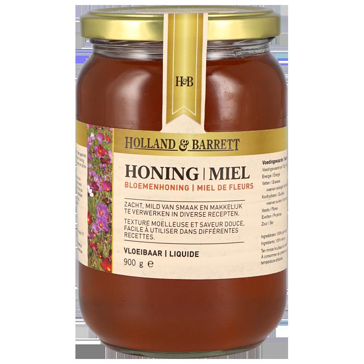 Holland & Barrett Bloemenhoning Vloeibaar 900gr