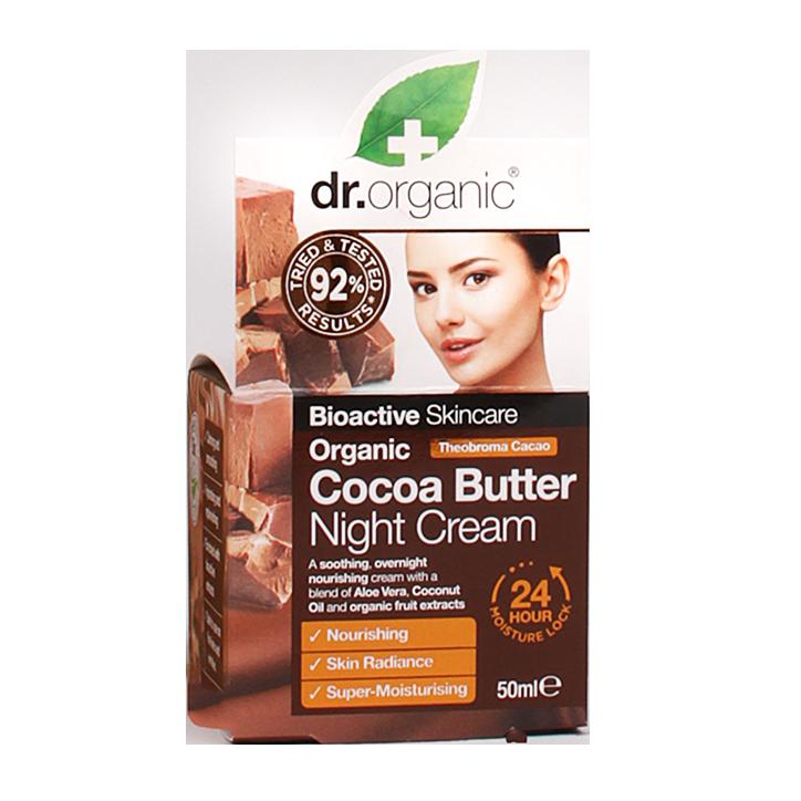 Dr. Organic Cocoa Butter Night Cream
