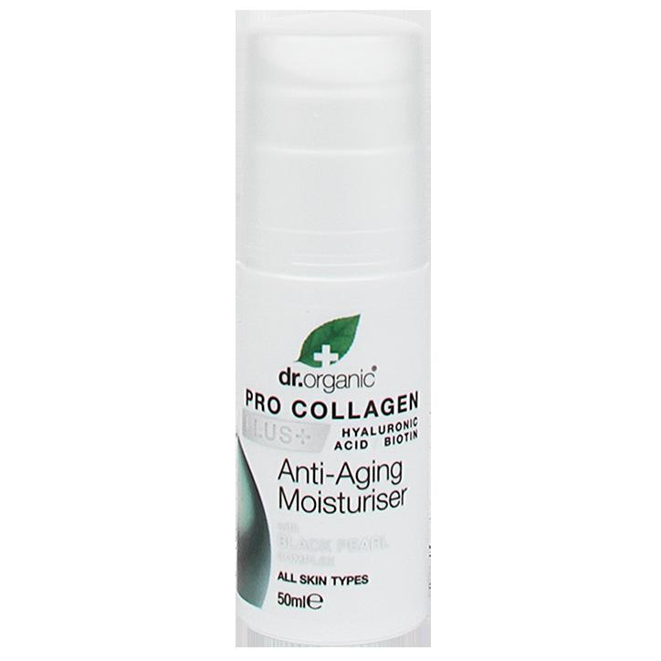 Dr Organic Anti-Aging Moisturiser Black Pearl