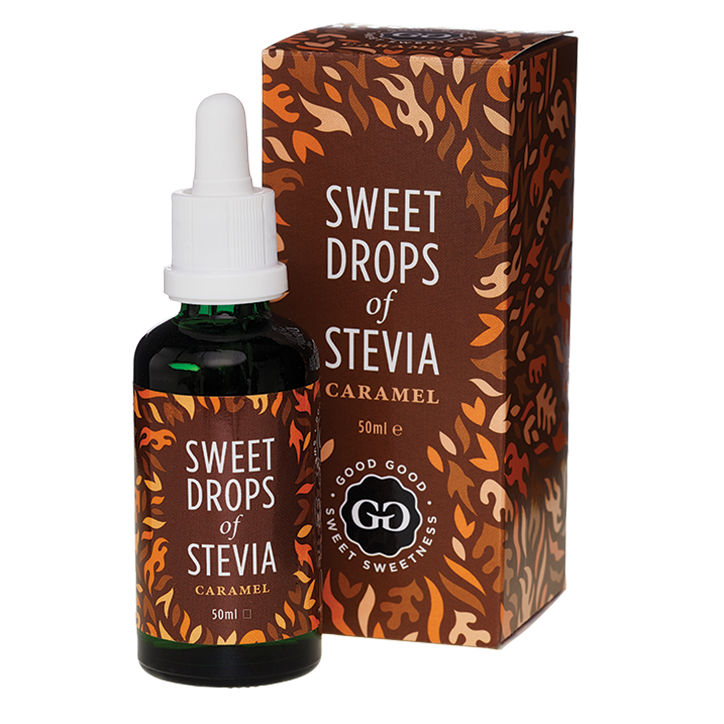 Good Good Sweet Drops Stevia Caramel