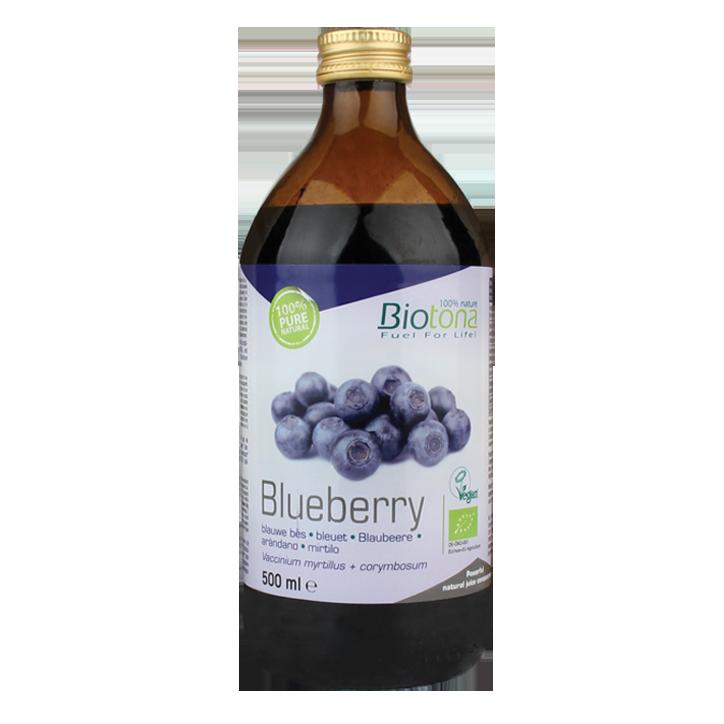 Biotona Blauwe Bessensap Bio
