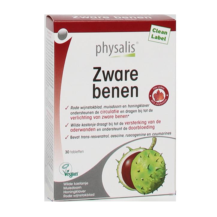 Physalis Zware Benen Bio (30 Tabletten)
