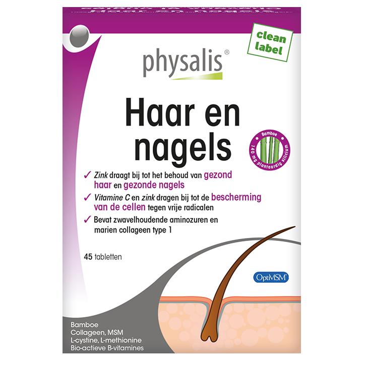 Physalis Haar En Nagels (45 Tabletten)