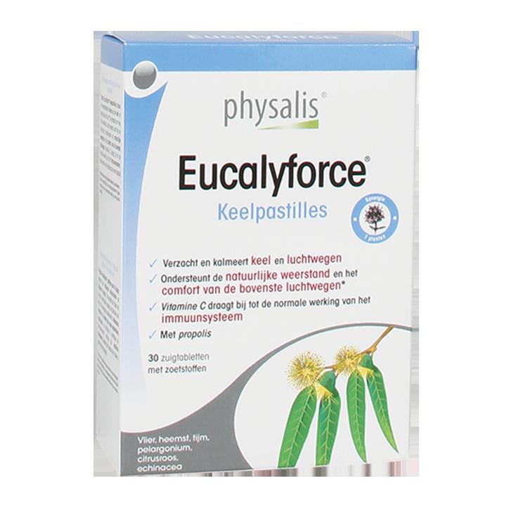 Physalis Eucalyforce (30 Keelpastilles)