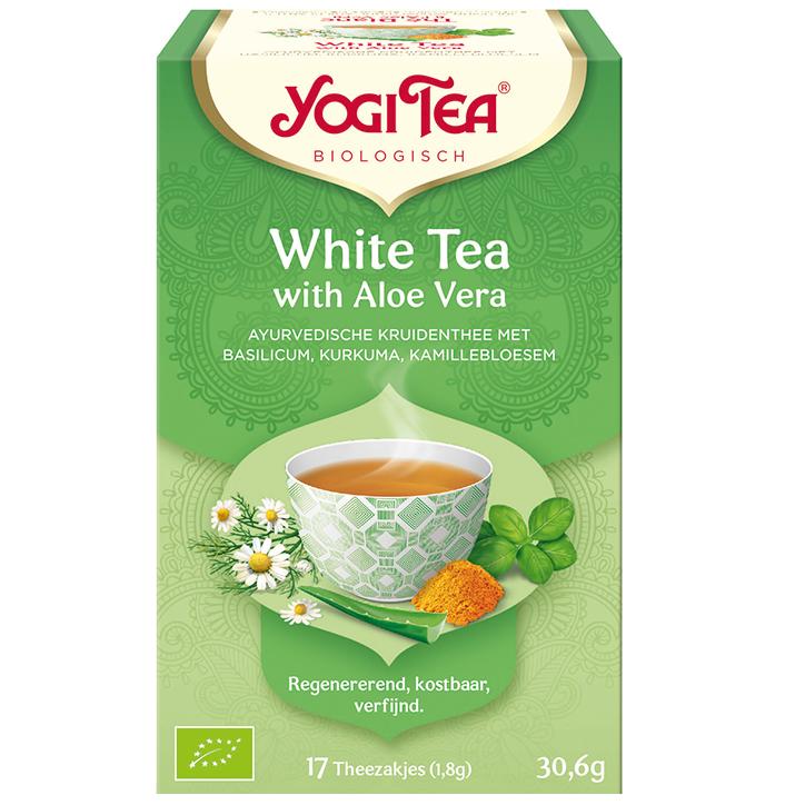 Yogi Tea White Tea Aloe Vera Bio (17 Theezakjes)