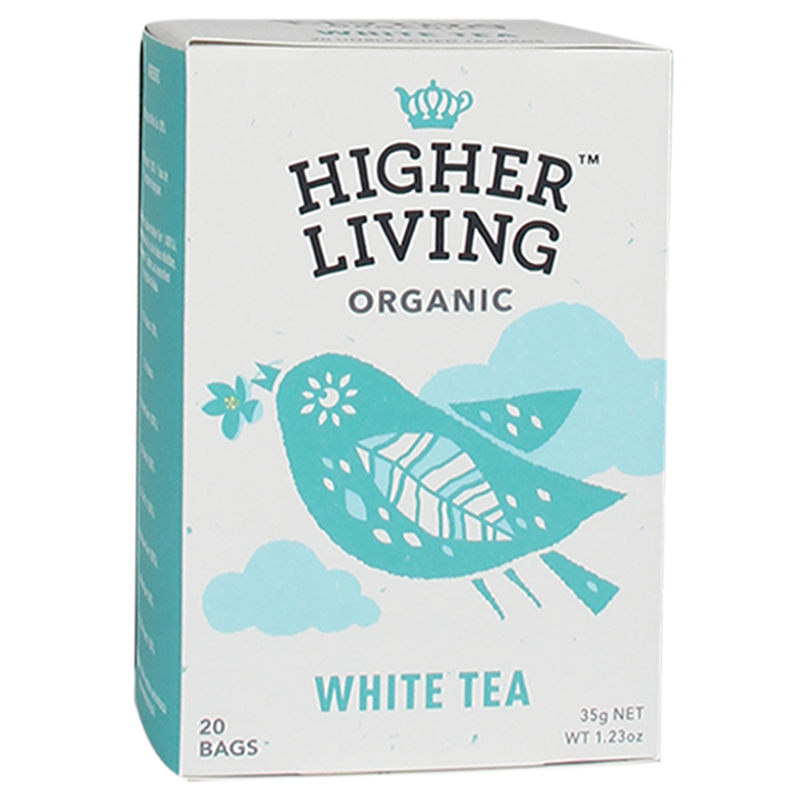 Higher Living White Tea Bio