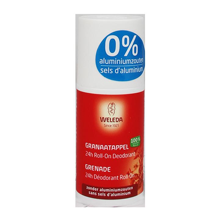 Weleda 24H Granaatappel Roll-On Deodorant (50ml)