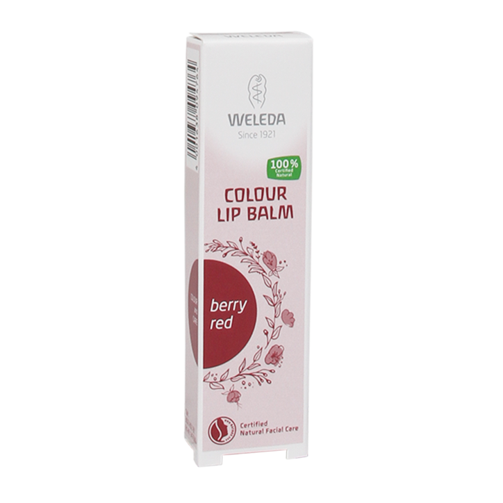 Weleda Colour Lip Balm Berry Red