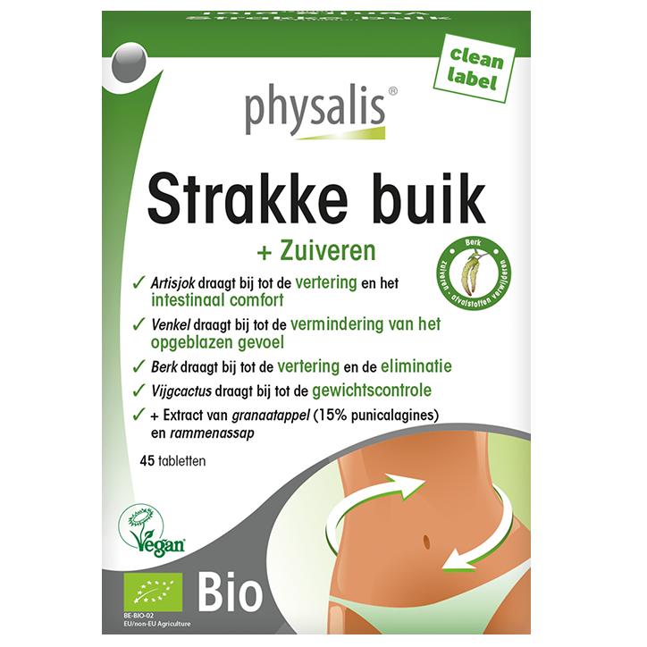 Physalis Strakke Buik (45 Tabletten)