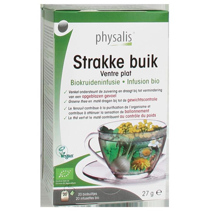 Physalis Infusion de plantes Ventre plat