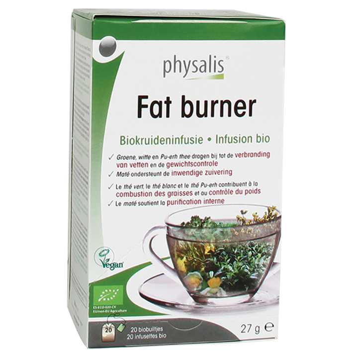 Physalis Kruideninfusie Fat Burner Bio