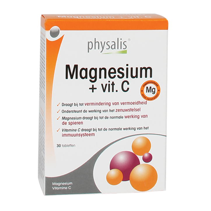 Physalis Magnesium + Vitamine C (30 Tabletten)