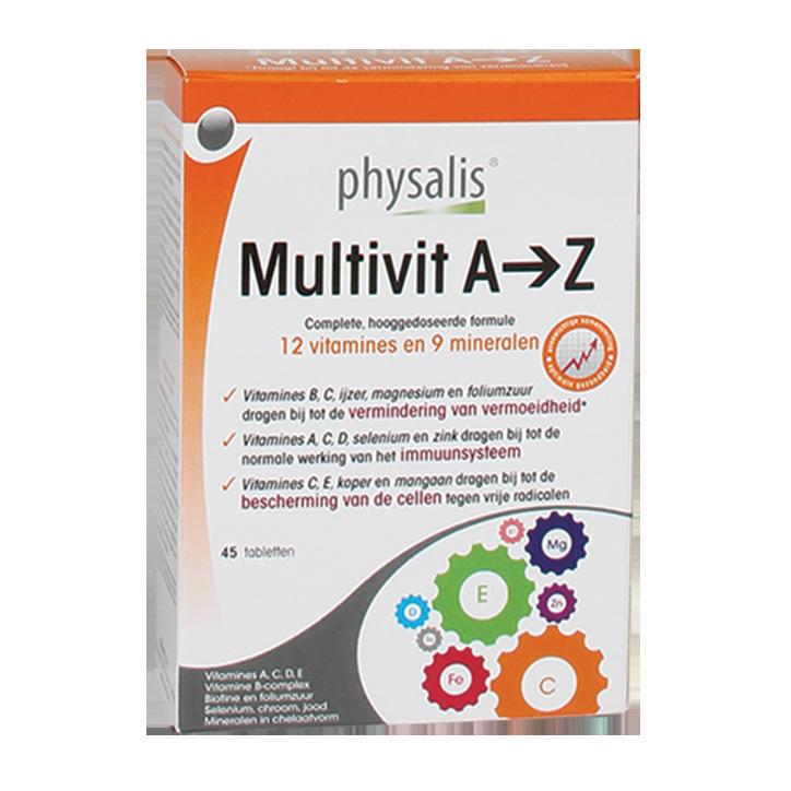 Physalis Multivit A-Z (45 Tabletten)