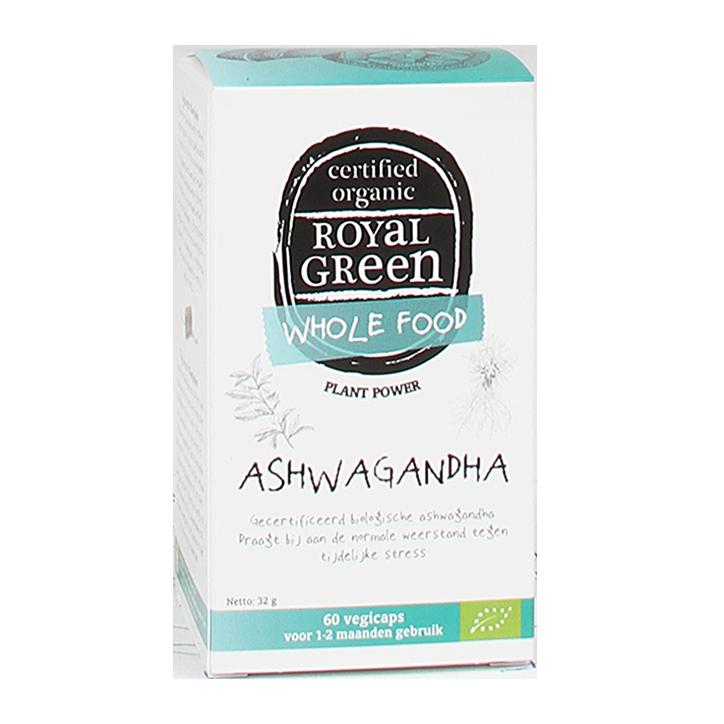 Royal Green Ashwagandha Capsules Bio
