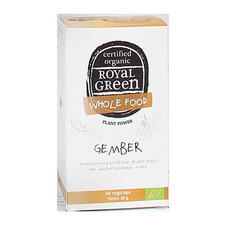 Royal Green Gember Bio, 335mg (60 Capsules)