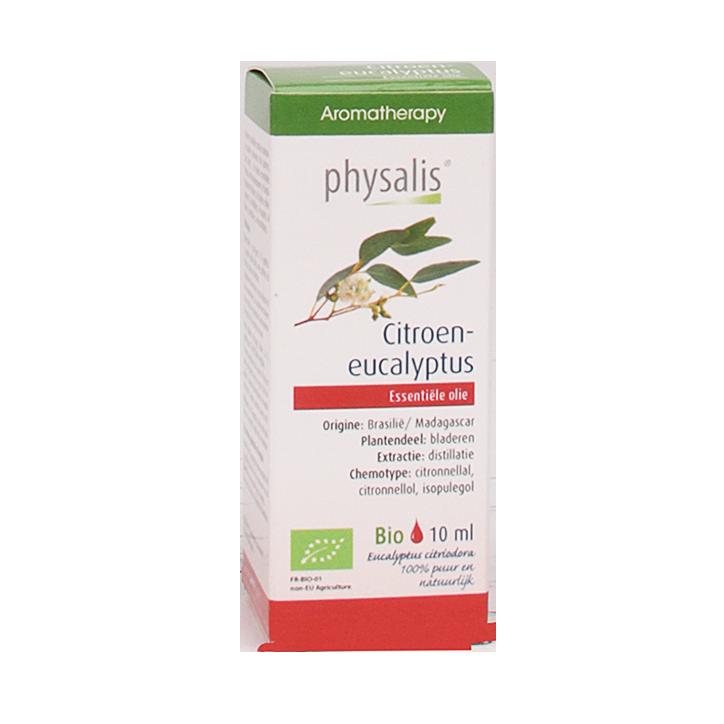 Physalis Citroen Eucalyptus Olie Bio (10ml)