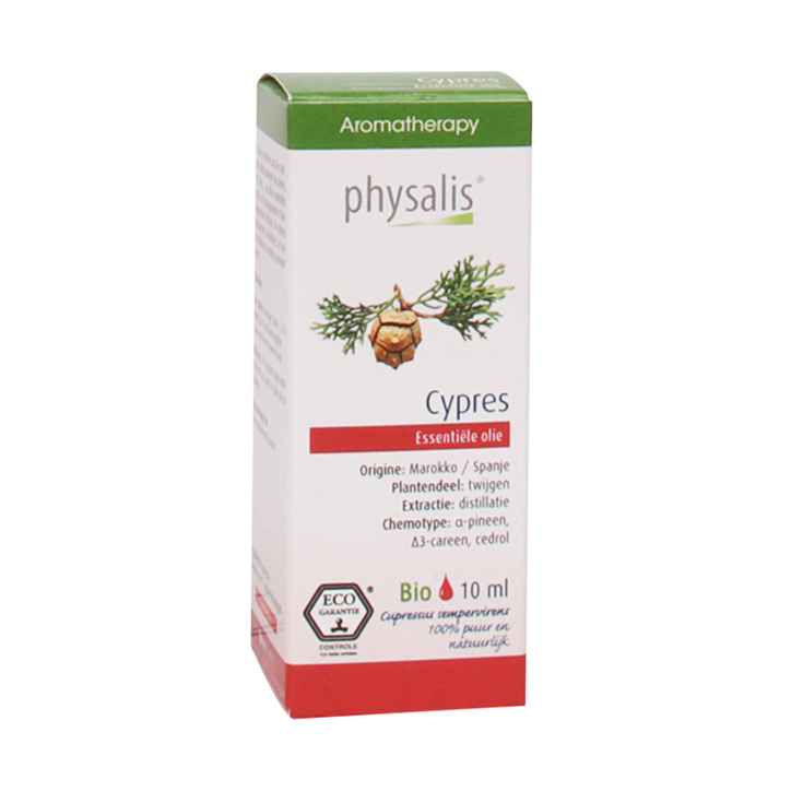 Physalis Cypres Olie Bio (10ml)
