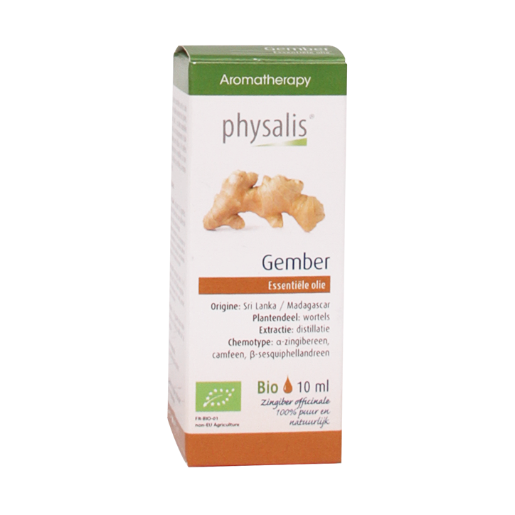 Physalis Gember Olie Bio