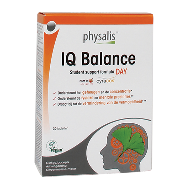 Physalis IQ Balance Day (30 Tabletten)