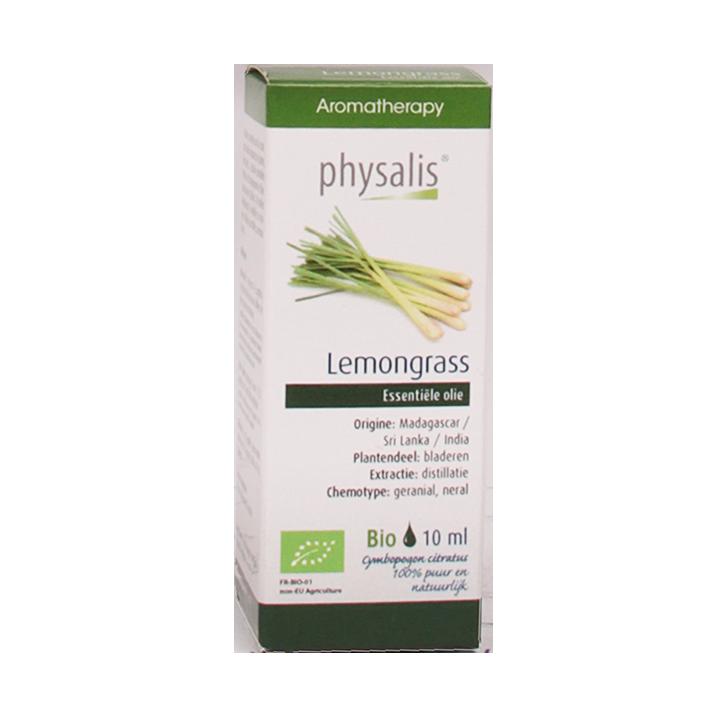 Physalis Lemongrass Olie Bio