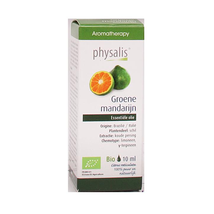 Physalis Groene Mandarijn Olie Bio