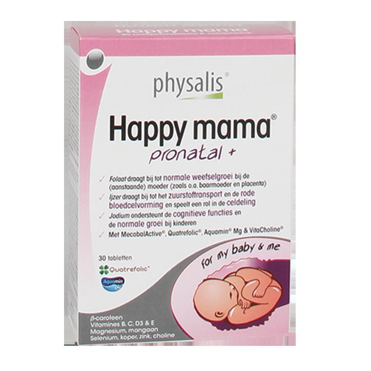 Physalis Happy Mama Pronatal+ Tabletten