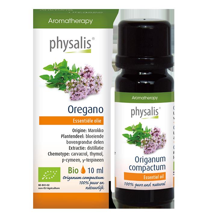 Physalis Oregano Olie Bio